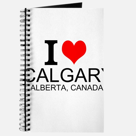 I Love Calgary Alberta Canada Journal