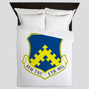 8th Tactical Fighter Wing Queen Duvet