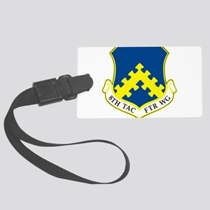 8th Tactical Fighter Wing Large Luggage Tag