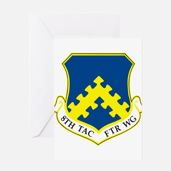 8th Tactical Fighter Wing Greeting Cards