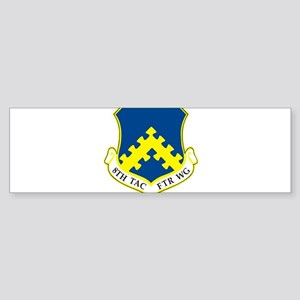 8th Tactical Fighter Wing Bumper Sticker