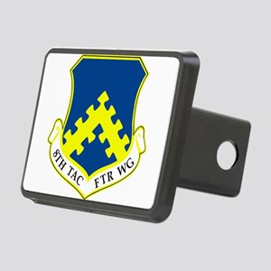 8th Tactical Fighter Wing. Rectangular Hitch Cover