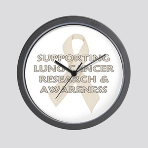 ...Lung Cancer... Wall Clock
