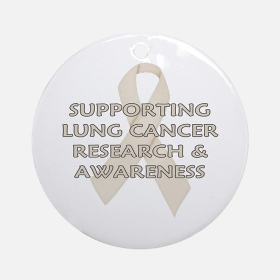 ...Lung Cancer... Ornament (Round)