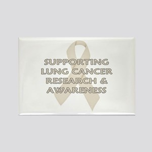 ...Lung Cancer... Rectangle Magnet