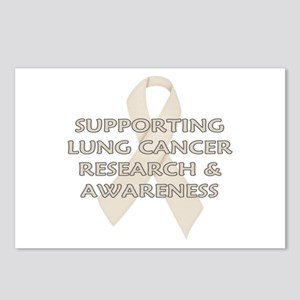 ...Lung Cancer... Postcards (Package of 8)