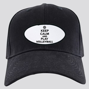 Keep calm and play Volleyball Black Cap