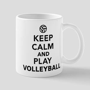 Keep calm and play Volleyball Mug