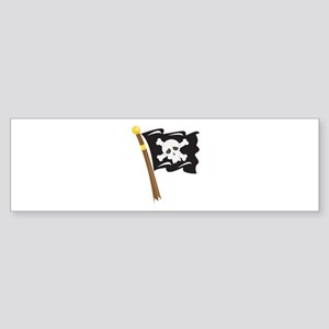 Pirate Flag Bumper Sticker