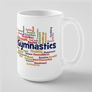 Gymnastics Word Cloud Mugs