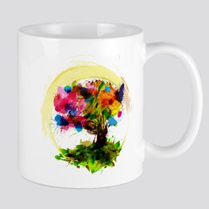 Watercolor Tree of Life Mugs