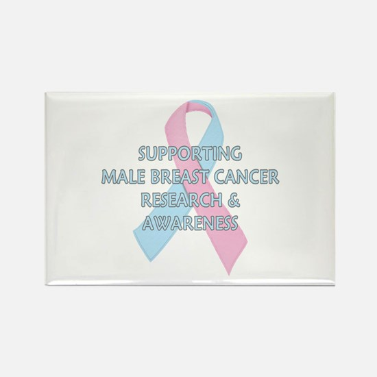 ...Male Breast Cancer... Rectangle Magnet