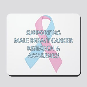 ...Male Breast Cancer... Mousepad