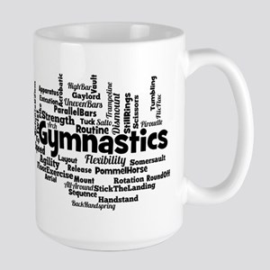 Gymnastics Word Cloud Mugs