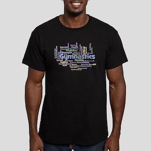 Gymnastics Word Cloud T-Shirt