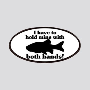 Hold My Fish With Both Hands Patches
