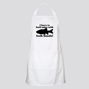 Hold My Fish With Both Hands Apron