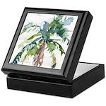 Palm Tree Keepsake Box