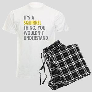 Its A Squirrel Thing Men's Light Pajamas