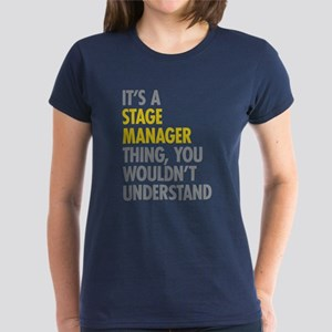 Stage Manager Thing Women's Dark T-Shirt