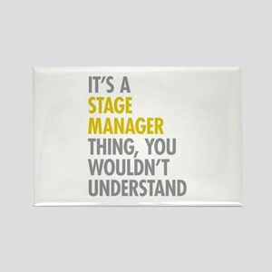 Stage Manager Thing Rectangle Magnet