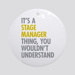 Stage Manager Thing Ornament (Round)