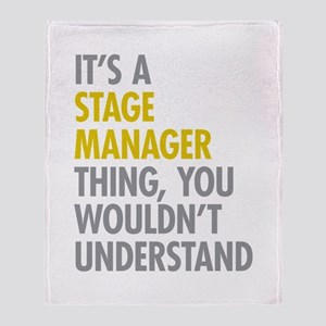 Stage Manager Thing Throw Blanket