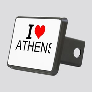 I Love Athens Hitch Cover