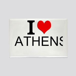 I Love Athens Magnets