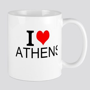 I Love Athens Mugs