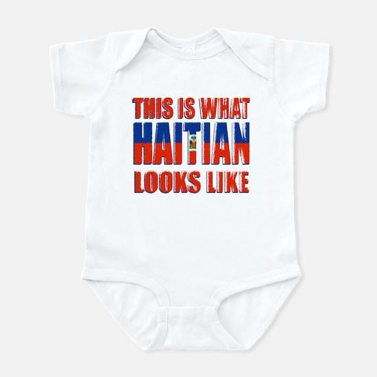 Haitian looks like! Infant Bodysuit