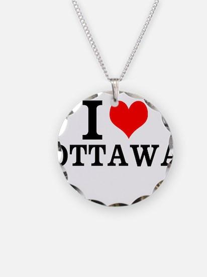 I Love Ottawa Necklace