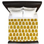 Gold Leaf King Duvet