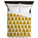 Gold Leaf Queen Duvet