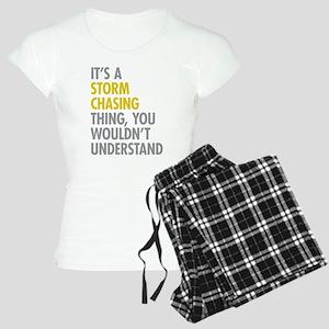 Storm Chasing Thing Women's Light Pajamas