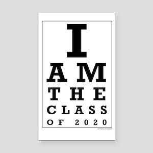 Class of 2020 Eye Chart Rectangle Car Magnet