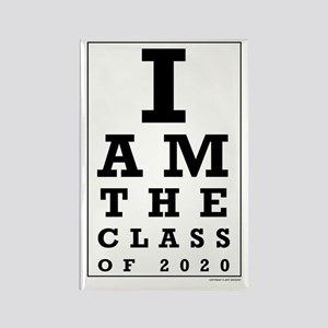 Class of 2020 Eye Chart Magnets