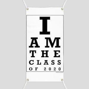 Class of 2020 Eye Chart Banner