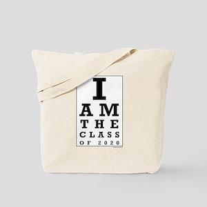 Class of 2020 Eye Chart Tote Bag