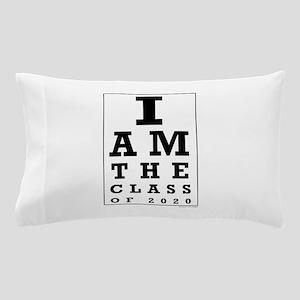 Class of 2020 Eye Chart Pillow Case