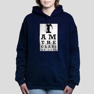 Class of 2020 Eye Chart Women's Hooded Sweatshirt