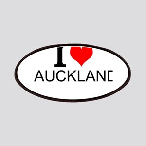 I Love Auckland Patches