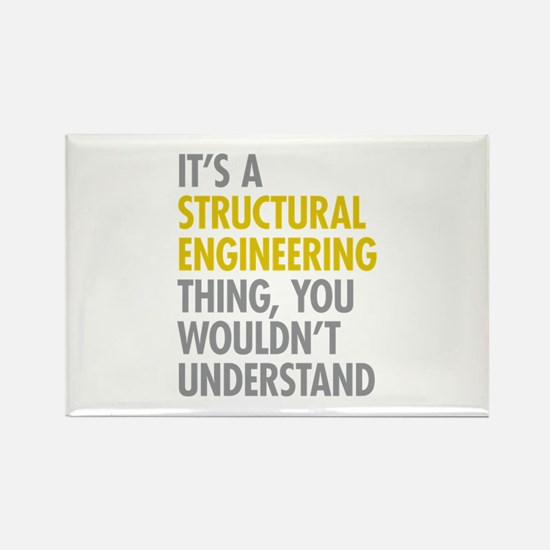 Structural Engineering Thing Rectangle Magnet