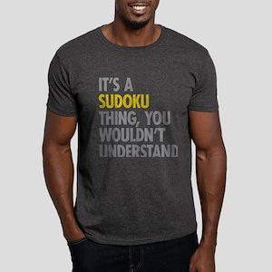 Its A Sudoku Thing Dark T-Shirt