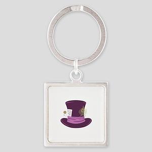 Mad Hatter Hat Keychains