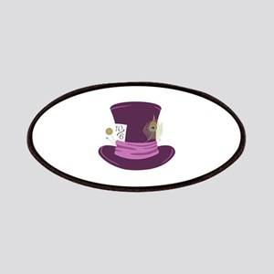 Mad Hatter Hat Patches