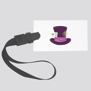Mad Hatter Hat Luggage Tag