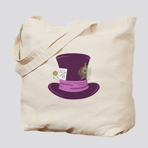Mad Hatter Hat Tote Bag