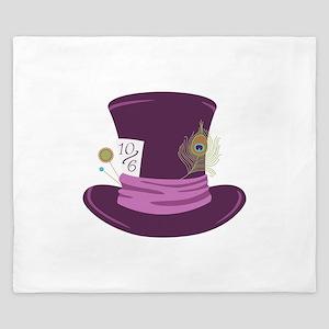 Mad Hatter Hat King Duvet