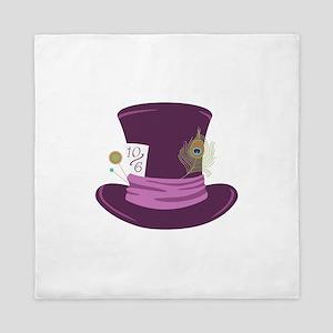 Mad Hatter Hat Queen Duvet